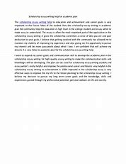 Image result for writing a scholarship essay about your goals