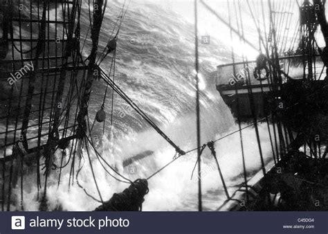 sailing boat in a storm sailing ship storm stock photos sailing ship storm stock