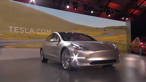 Who Is Tesla Meet Tesla S Model 3 Its Awaited Car For The Masses