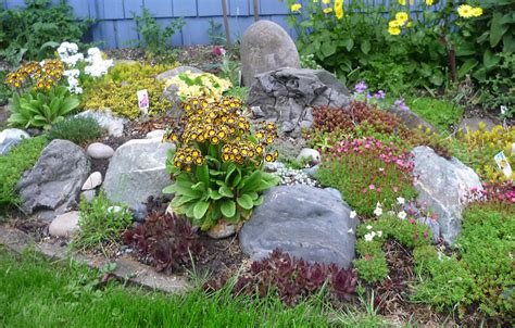 how to make a rock garden garden decoration