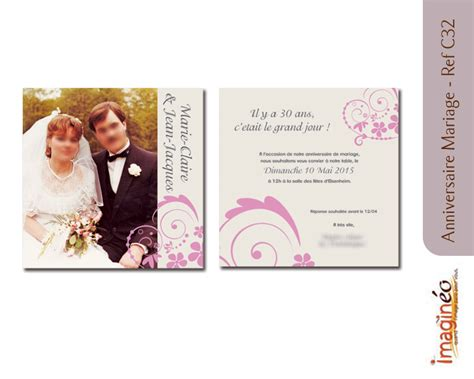 modele courrier 50 ans mariage
