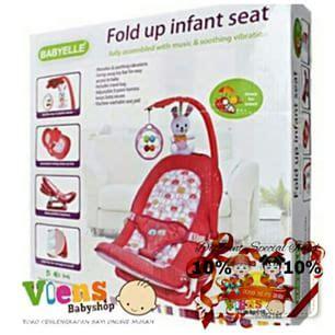 Dudukan Santai Bayi Fold Up Infant Seat Babyelle Kursi Bayi Murah baby fold up infant seat diskon spesial imlek 10 ibuhamil