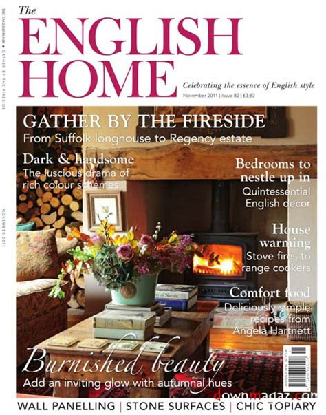 design magazine english the english home november 2011 187 download pdf magazines