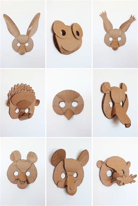 How To Make Animal Masks With Paper - free coloring pages of animal masks bee
