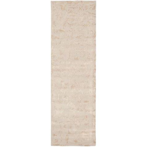 safavieh soho ivory 2 ft 6 in x 12 ft rug runner