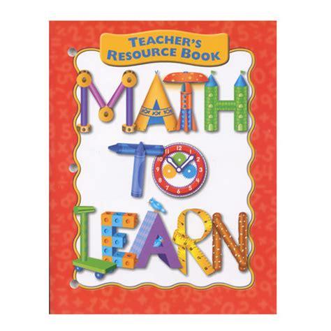 Resourse Books For Teachers Beginner Original math to learn resource book sale discount supplies eai education