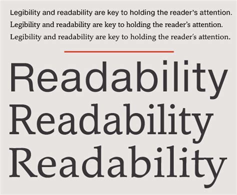 typography readability serif vs sans for text in responsive design fonts