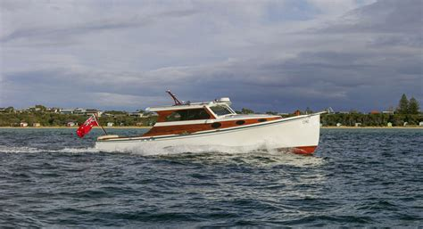 wooden boat index shearwater