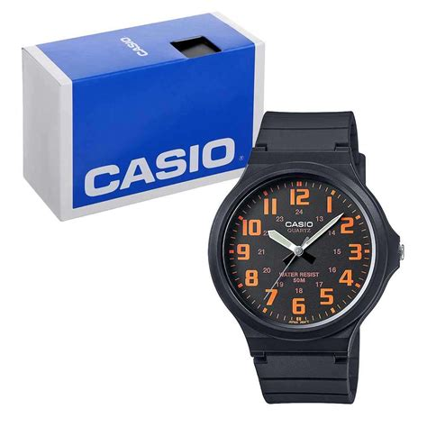 casio mw 240 1b by casio original casio s quartz mw 240 4bvef 7dayshop