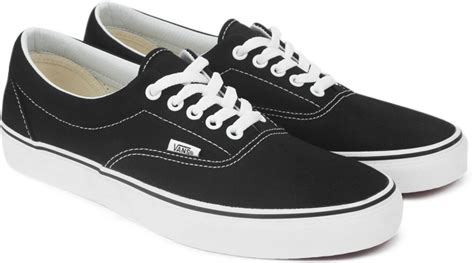 Sepatu Casual Vans Era Black White Sneakers Original vans era sneakers for buy black color vans era sneakers for at best price