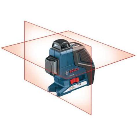 home depot laser level bosch dual plane laser level gll2 80 the home depot