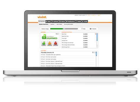 vivint support go access