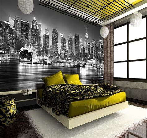 wall mural new york new york skyline manhattan wall mural wallpapers decor photo wallpaper