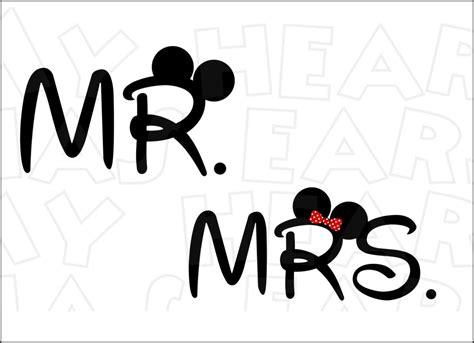 mr clipart mr mrs disney logo clipart clip images 10964