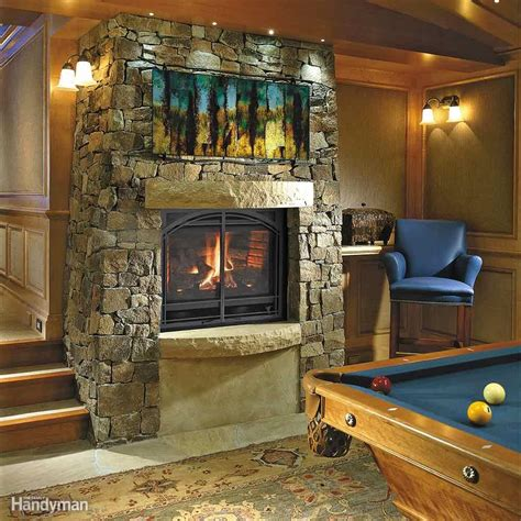 gas fireplace tips basement finishing tips the family handyman