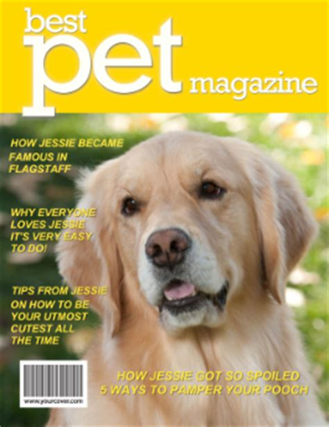 golden retriever news magazine superstar cover model is a real yourcover announces april 2013 cover of the