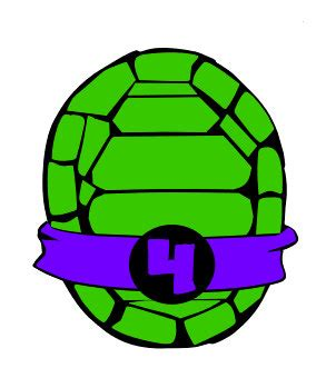 teenage mutant ninja turtle shell iron on clipart best