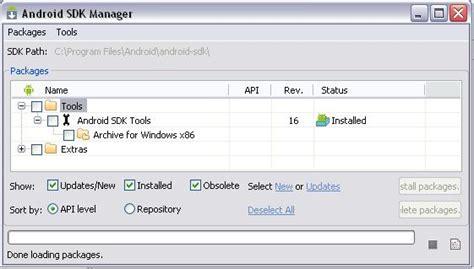android sdk platform tools eclipse android sdk platform tools install error on windows xp stack overflow