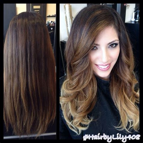wash hair after balayage highlights balayage highlights before and after google search my