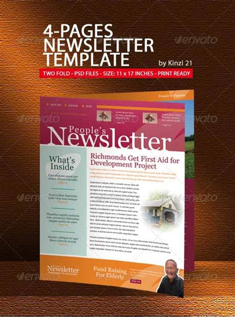 newsletter pages template 35 effective and creative email newsletter designs