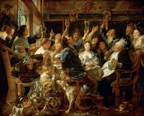 the feast of the file jacob jordaens the feast of the bean king google art project jpg wikimedia commons