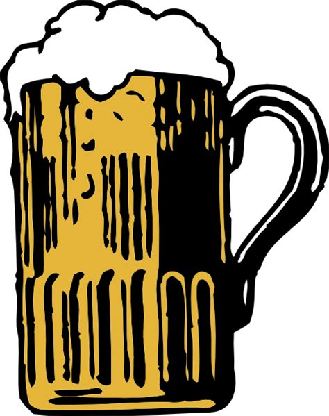 beer glass svg foamy mug of beer clip art at clker com vector clip art