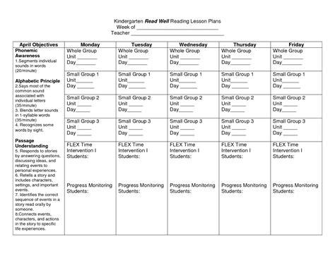 44 teacher lesson planner template free lesson plan template lesson