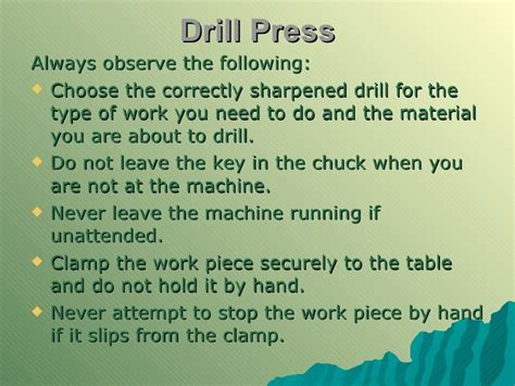 bench press safety tips mechanical technology grade 12 chapter 3 safety in the