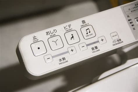 Bidet Controls by Bidet Devices Wireless Remote Or Side Panel