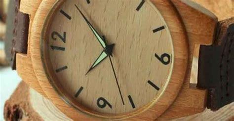 Jam Tangan Kayu Rantai Kayu jkw jam tangan dari limbah kayu buatan kulonprogo jogja istimewa
