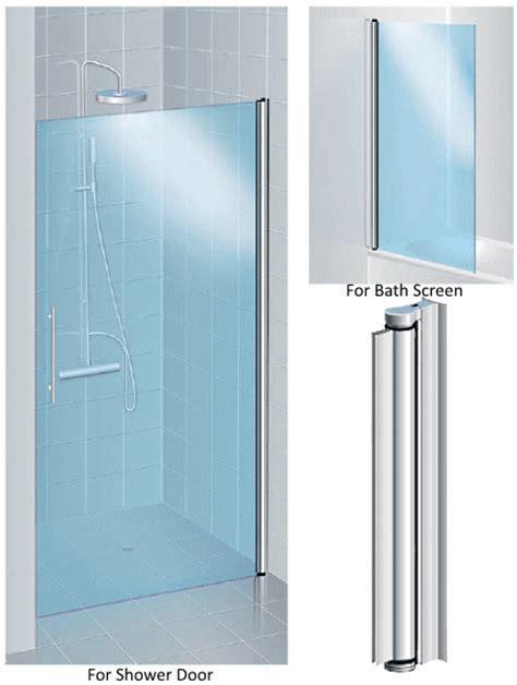 Aluminium Pivot Hinge For 6mm Glass Shower Door No Glass Shower Door Pivot Hinges