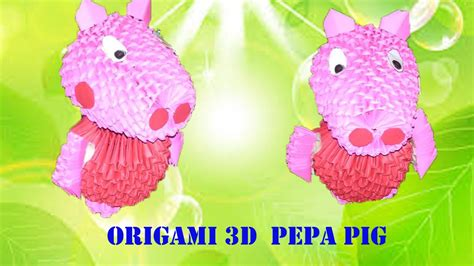 3d Origami Pig - 3d origami pig 28 images 3d origami pig the world s