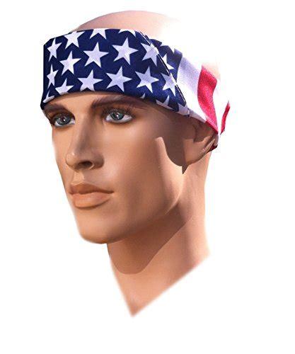 Bandana Headband costume adventure american flag bandana headband us