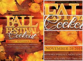 Fall Flyer Template by Fall Festival Flyer Template Flyerheroes