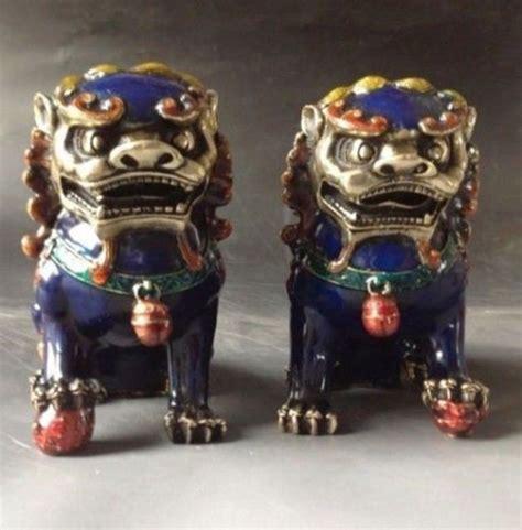 chinesische lions kaufen gro 223 handel foo hund statuen aus china foo