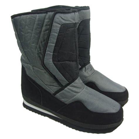 mens apres ski boots boots mens waterproof soles winter snow moon apres