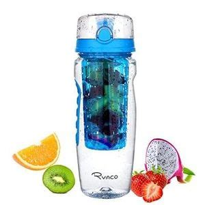 Murah Kidzinger Water Bottle With Fruit Infuser Tritan ryaco fruit infuser tritan water bottle 1 litre 163 7 99 at latestdeals co uk