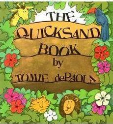 themes in the book quicksand the quicksand book by tomie depaola scholastic com