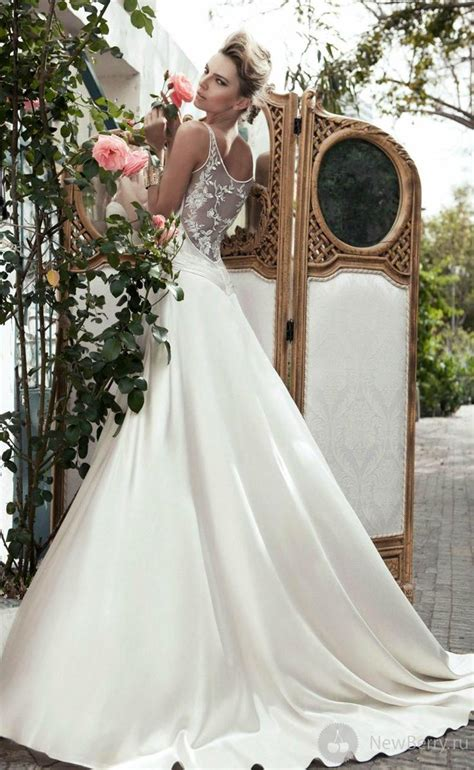 netted wedding dresses lace wedding white wedding gown with netted back