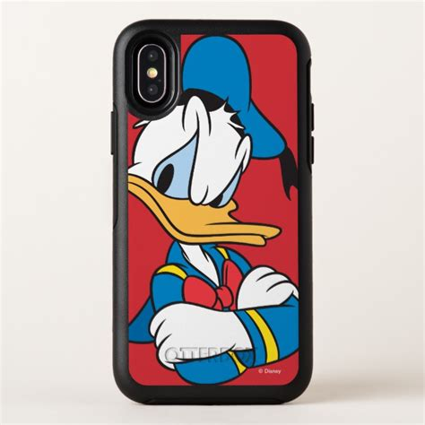 Iphone X Duck donald duck arms crossed otterbox symmetry iphone x
