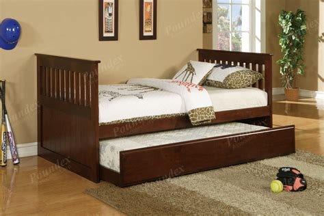 Twin Bed W Trundle Day Bed Bedroom Furniture Trundle Bed