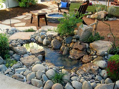 backyard pond fountains surge pack diy landscaping ideas brisbane time