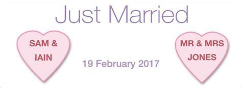 personalised wedding banner uk personalised wedding banners personalised banners