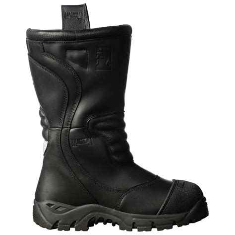 firefighting bunker boots magnum pro bunker fireman unisex boot