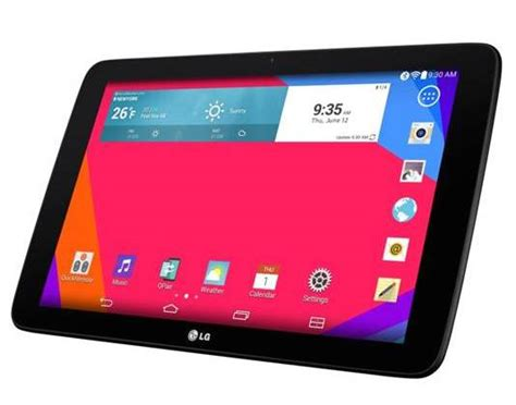 Tablet Android Lg lg g pad 10 1 android tablet review