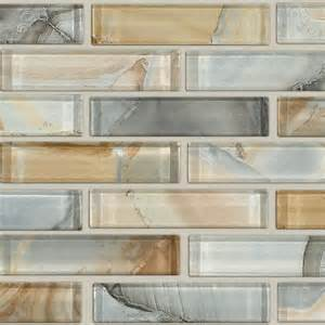 Kitchen Backsplash Glass Tile Design Ideas Mercury Glass In Gilt Other By Shaw Floors