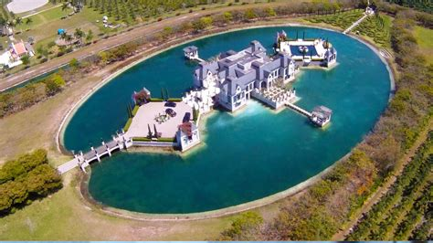 charles sieger architect charles sieger s florida castle with moat