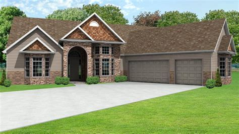House With 3 Car Garage by Ranch House Plans With 3 Car Garage Ranch House Plans With