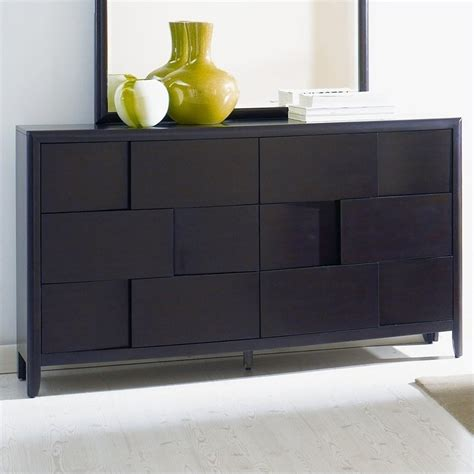 espresso finish dresser nova 6 drawer double dresser in espresso finish b1428 20