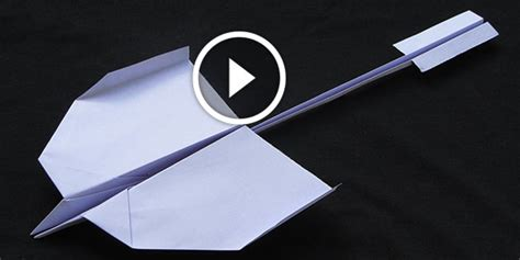 How To Make Fly Paper - how to make a beautiful paper airplane that will fly like